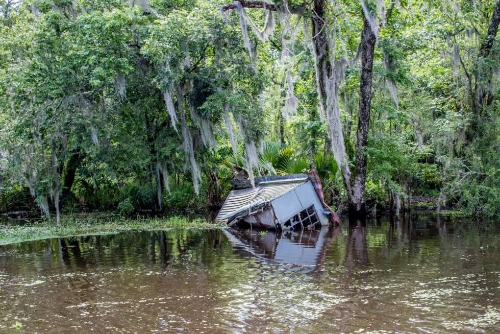 Drowned House New Orleans Swamp Tour