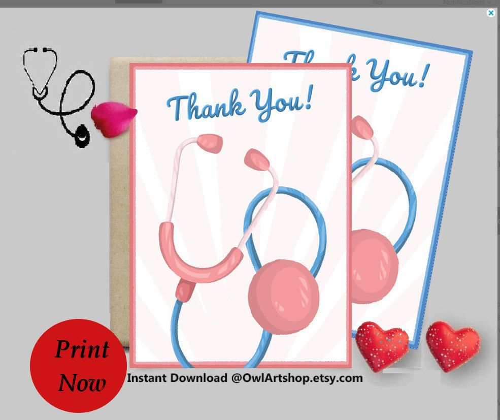 Cute Colorful Thanks Card with Flowers for Someone Special Nurse Floral Printable Thank You Card A2 Room-Mate Doctor Friend Teacher