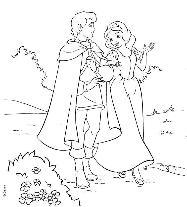 Snow white and her prince | paint fun | Pinterest | Snow white, Snow ...