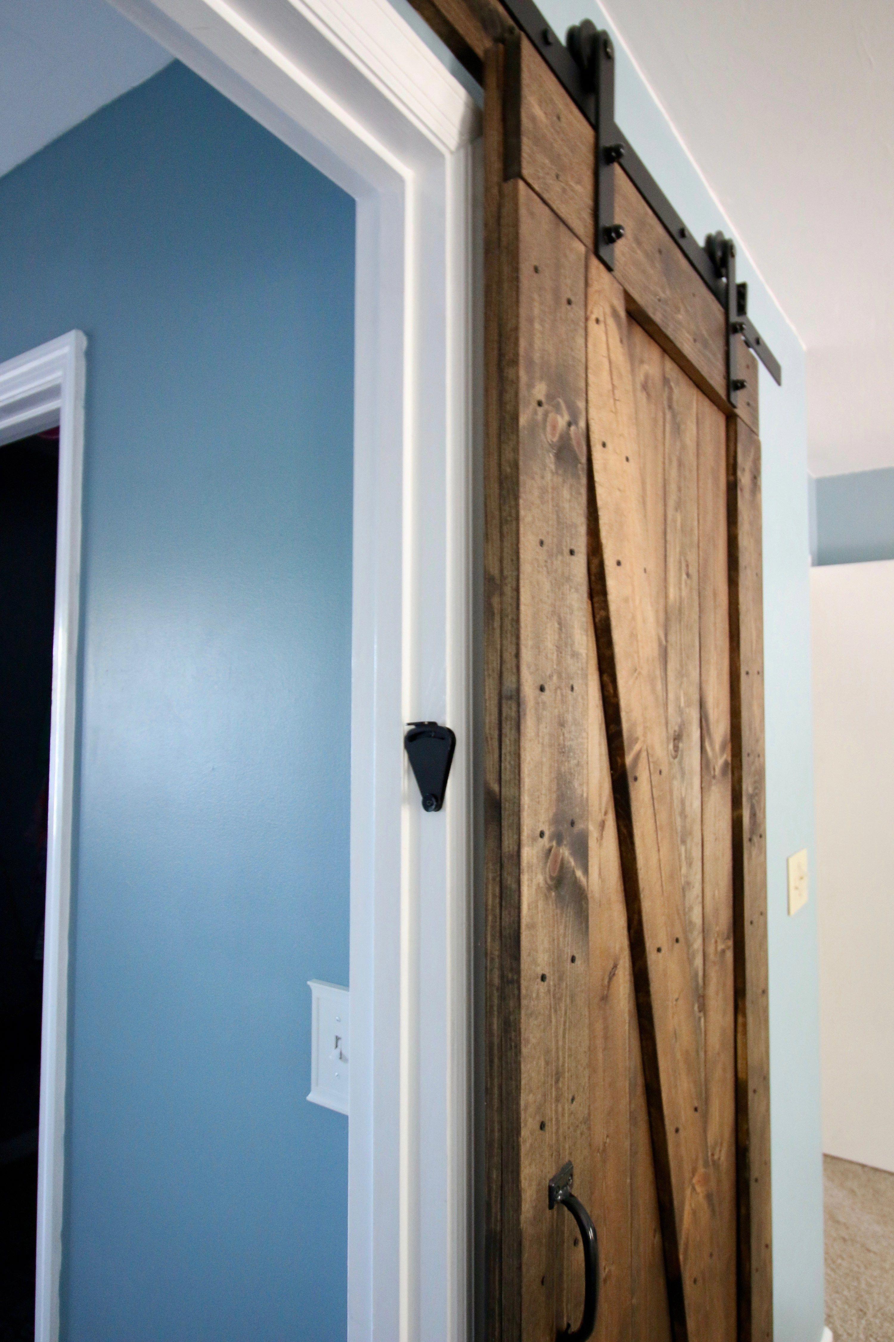 Adding a barn door lock charleston crafted a barndoor for