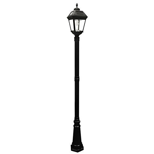 Cheap Gama Sonic Imperial Bulb Solar Outdoor Lamp Post Gs 97b S Black Finish With Images Outdoor Lamp Posts Solar Lamp Post Lamp Post Lights