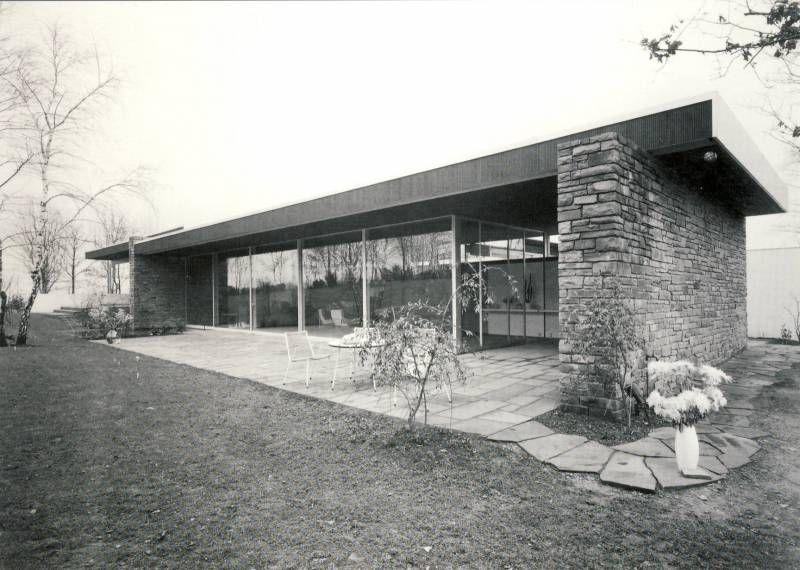 Villa pescher in wuppertal architektur richard neutra for Minimalismus hausarbeit