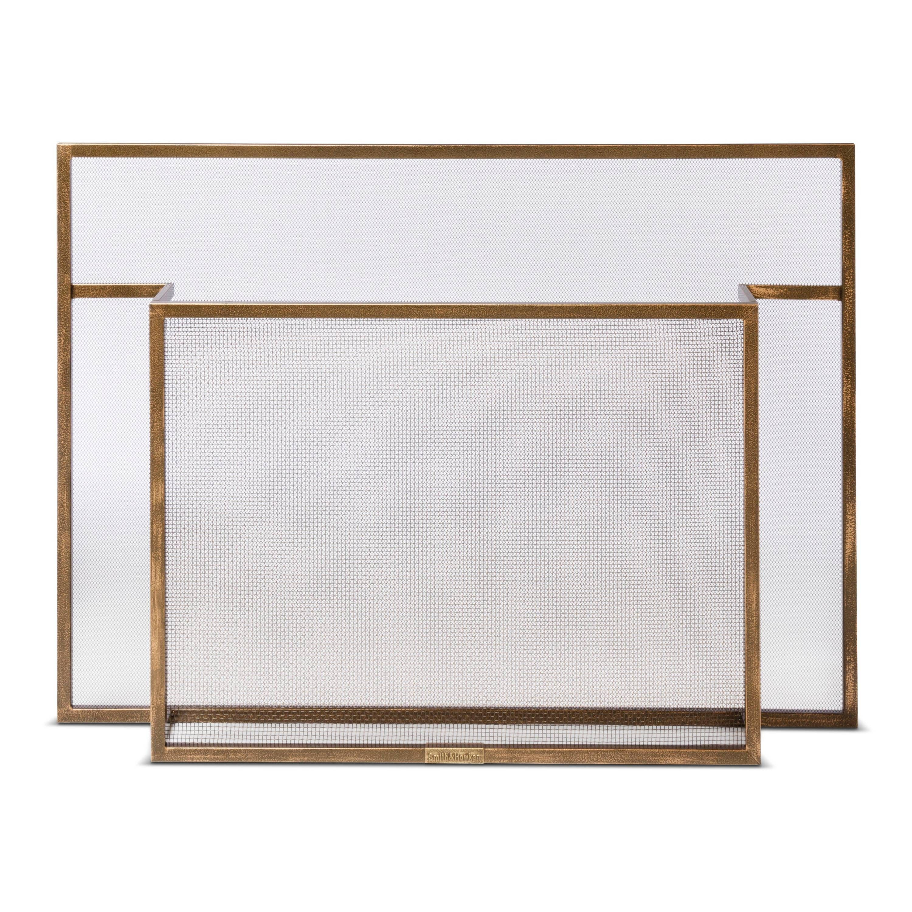west by decoration cheap elegant glass your fireplace modern decor screens for elm screen