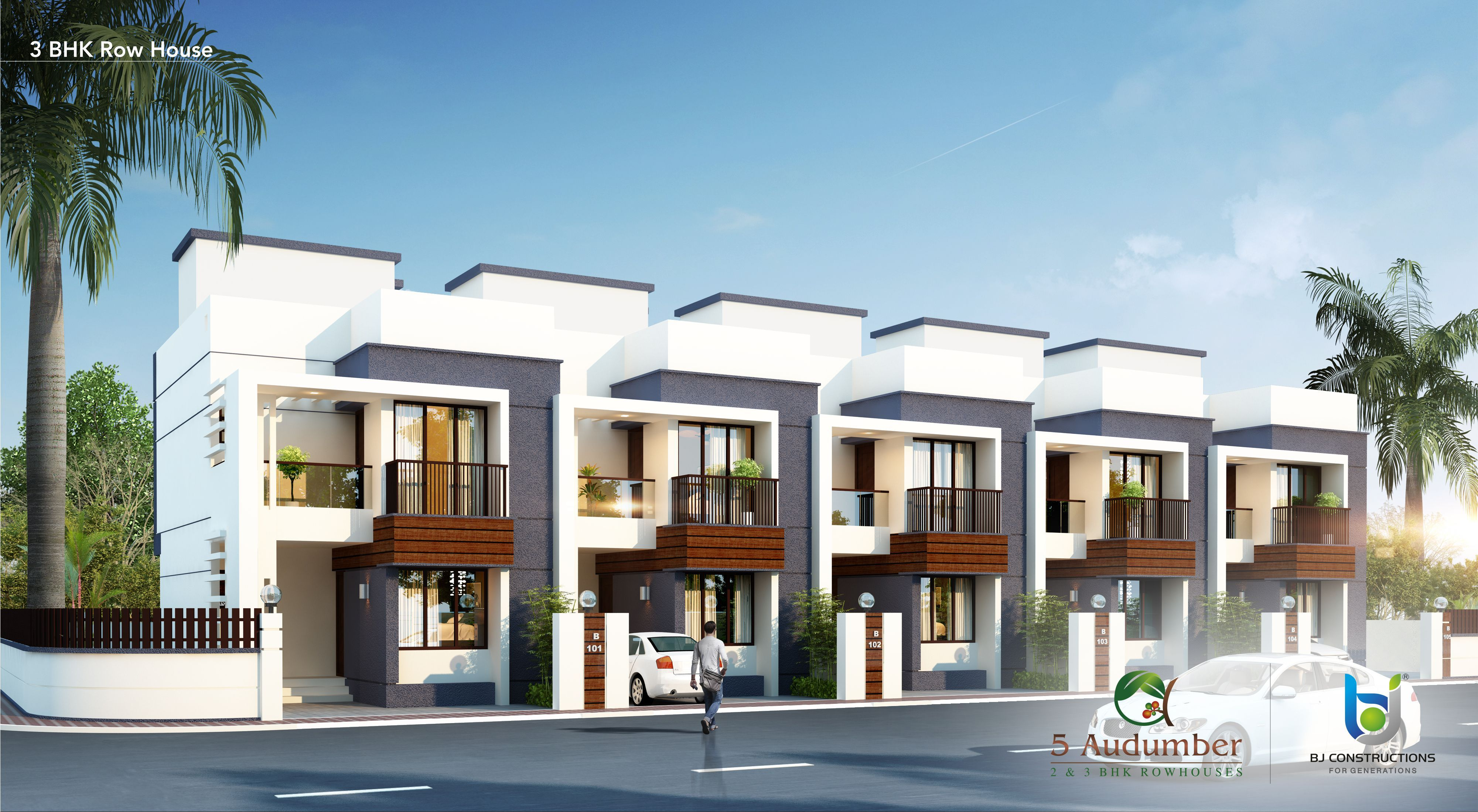 5 Audumber 2bhk 3 Bhk Row House Shirur Row House Design Modern Bungalow House Duplex House Design