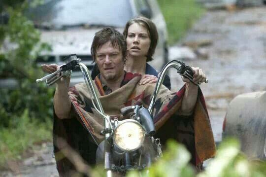 Daryl and Maggie