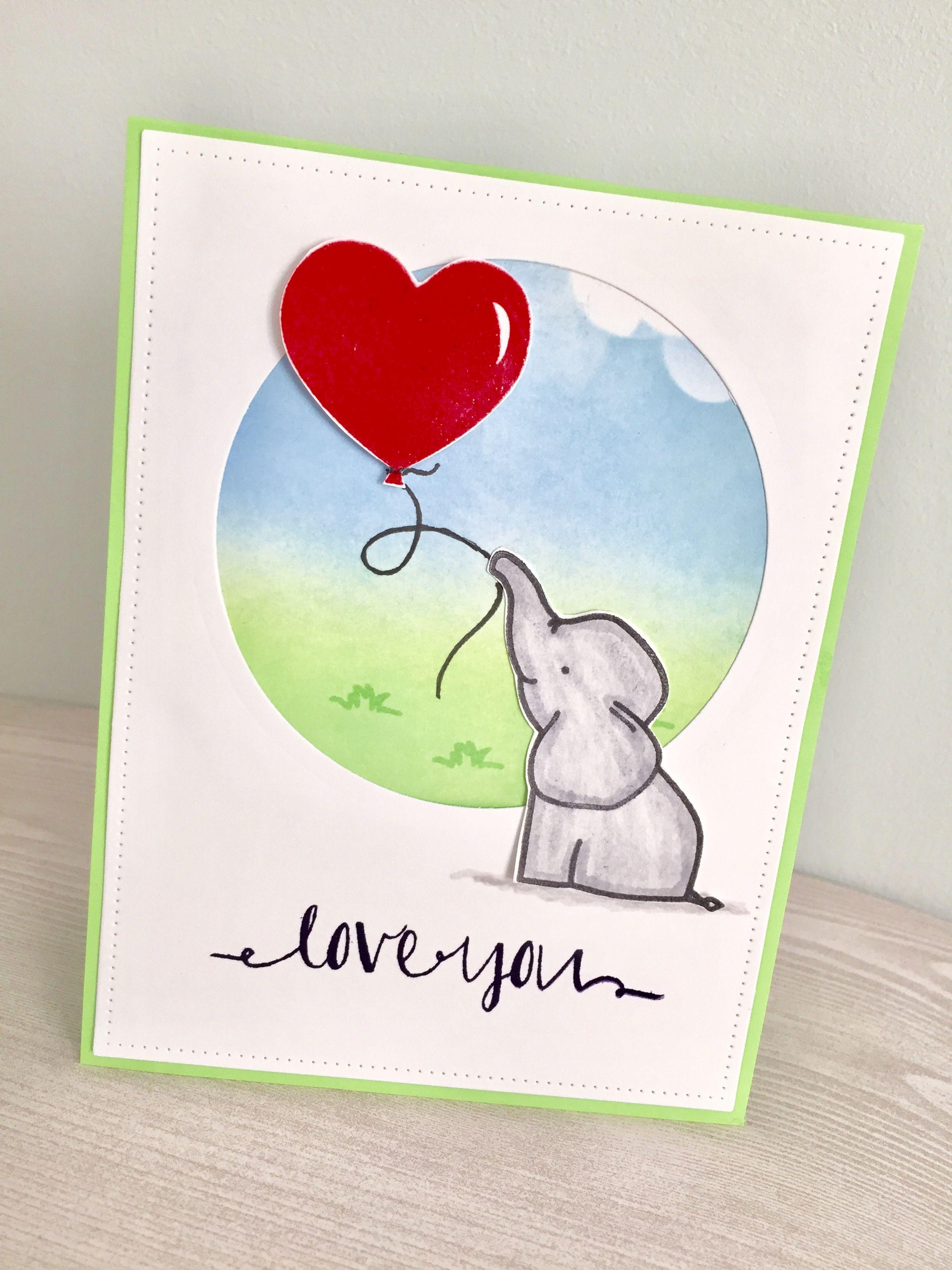 Handmade Card Using Avery Elle Strap Sets Ink Blended Background Greeting Cards Handmade Cards Handmade Stamped Cards