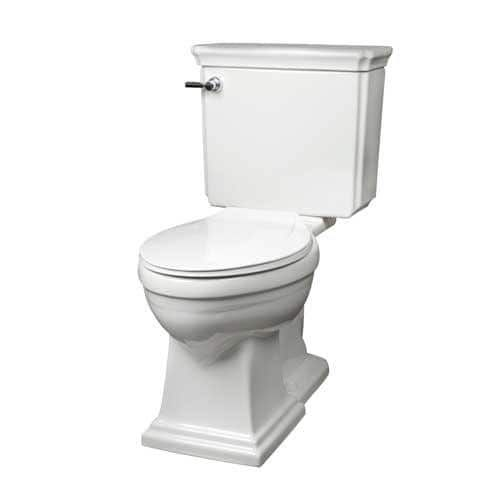 Mansfield Brentwood White Elongated Front Smartheight Ada Two Piece Toilet At Menards Mansfield Reg Brentwood Reg Ad Bathroom Collections Toilet Brentwood