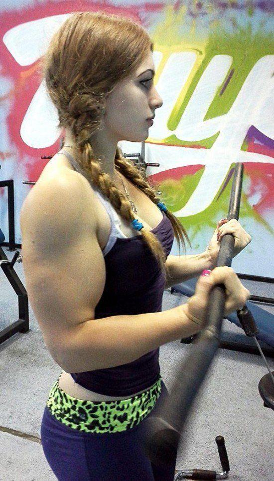 Julia Vins Yulia Viktorovna Vins Russian Powerlifter Body Building Women Bodybuilding Girl Muscular Women