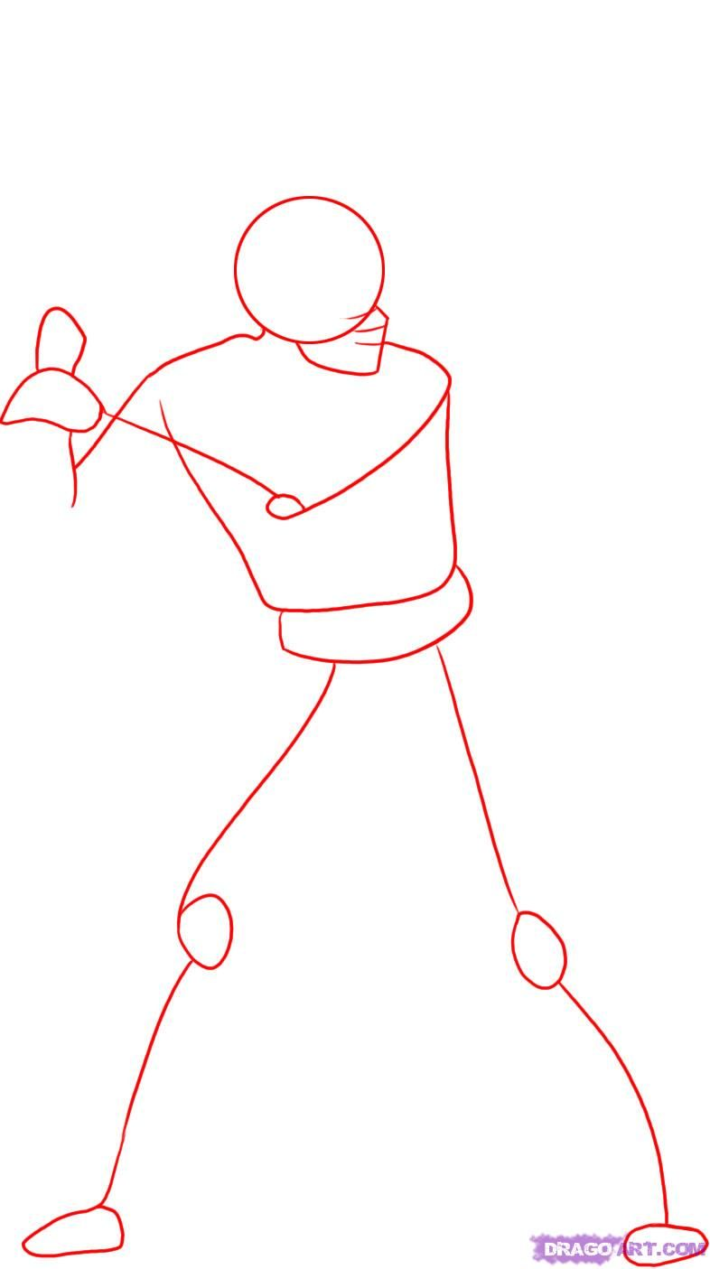 Uncategorized How To Draw A Baseball Pitcher how to draw a baseball player step 1 pinterest 1