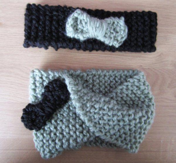 snood et bandeau pour petite fille tricot pinterest bandeaux petite fille et filles. Black Bedroom Furniture Sets. Home Design Ideas