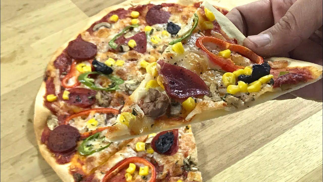 Mayasız Hamurdan Pizza Videosu 73