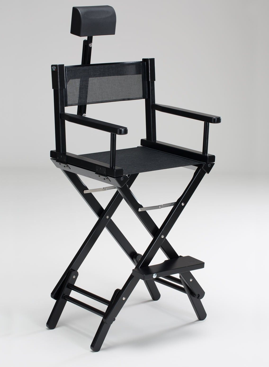 Makeup director chairs. Cantoni for makeup and aesthetic professionals. Dual height portable chair for professional makeup artist complete with the ... & S102N promo pack- Double height makeup artist chair in black wood ...
