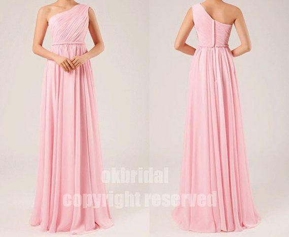 Blush Pink Bridesmaid Dresses Womens By Okbridal 129 00