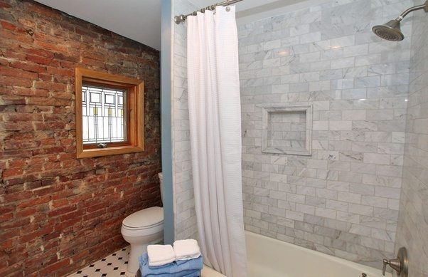 Image Result For Red Brick Marble Floor Bathroom