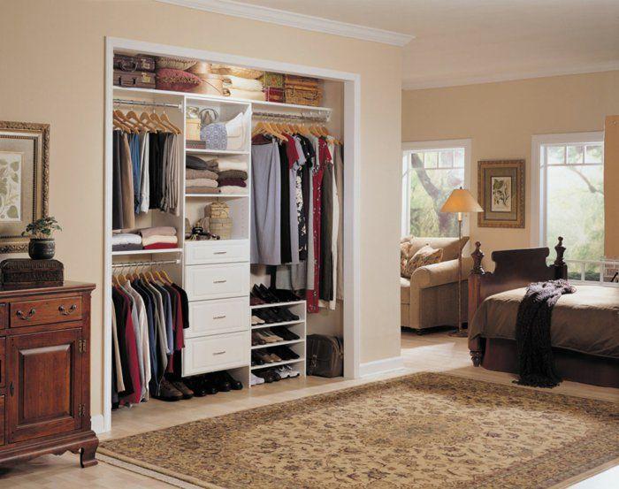 Vintage Offener Kleiderschrank Beispiele wie der Kleiderschrank ohne T ren modern und funktional vorkommt