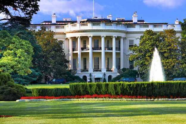 Take a tour of the White House gardens and grounds