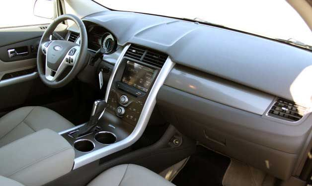 2017 Ford Edge Interior Vehicles Pinterest And Cars