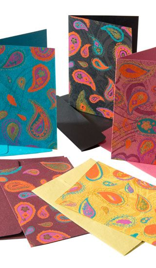 Greeting card sale uk driveeapusedmotorhomefo paisley print handmade paper greeting card sale cards wrapping paper gift boxes m4hsunfo