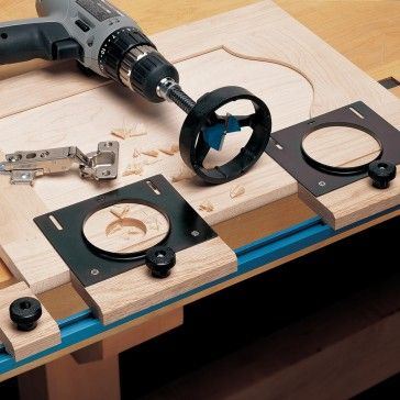 Rockler Jig It 174 For Concealed Hinges Multi Tool Rail