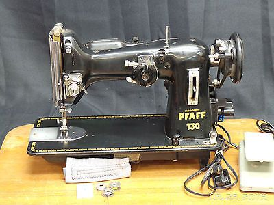 Vintage Pfaff 130 Heavy Duty Industrial Leather Upholstery Sewing