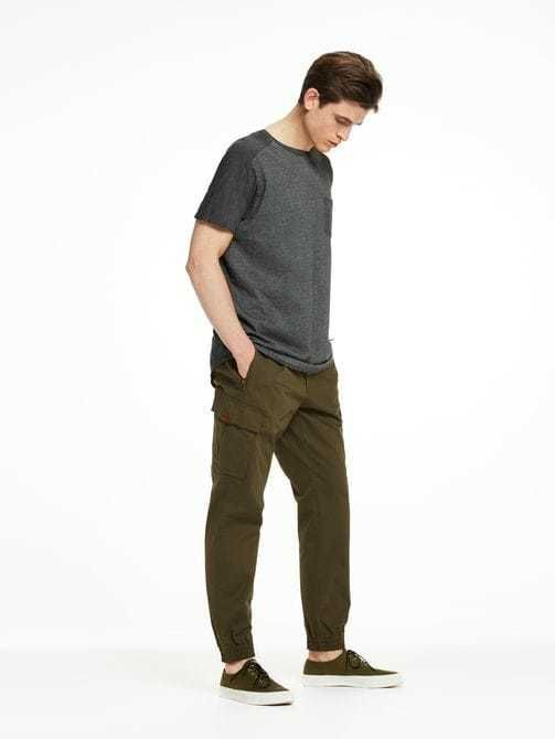 Blake-Pleated Cargo Pants