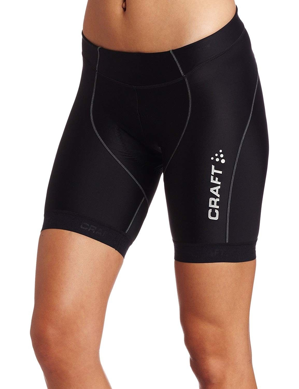 Women's Performance Bike Cycling Training Fitted Padded Tight Shorts: protective/riding/compression/...