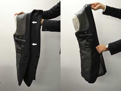 How to: The Best Way to Fold a Suit or Sport Coat for Travel ...