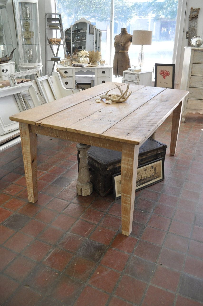 Rustic Reclaimed Farm Dining Table Ridiculously Priced On Etsy Idea