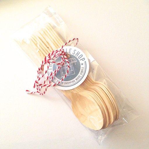 Wooden Cutlery Teaspoons