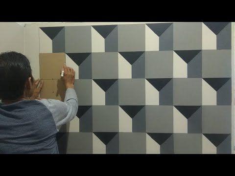 3d 018 Cat Tembok 3d 3d Wall Painting 3d Wall Decoration Design Youtube Lukisan Dinding Seni Dinding Painting