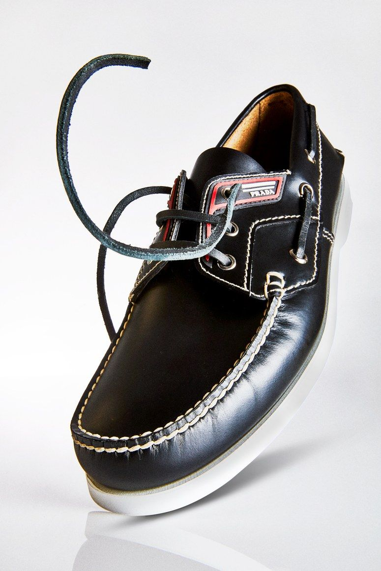 d9559a530a8 The boat shoe has officially been Prada-fied