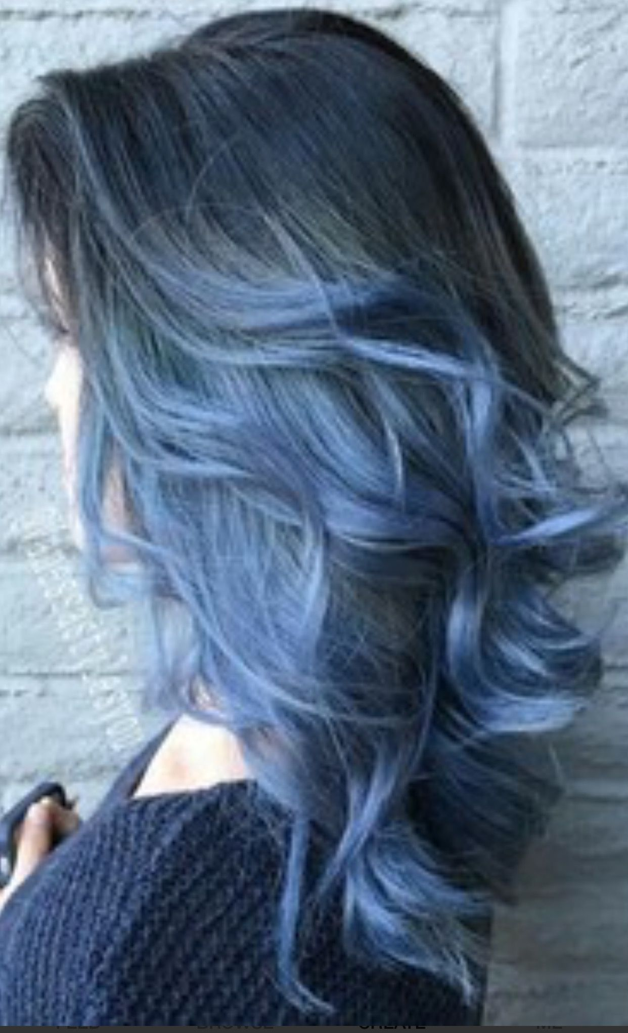 Pin by Emily Victor  on Blue Hair  Pinterest  Blue hair