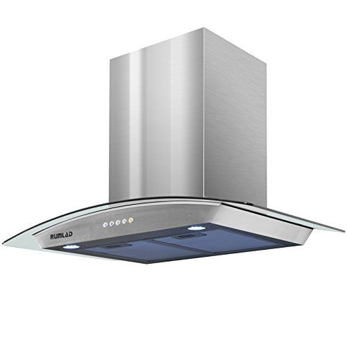 Rumlad 30stainless Steel Wallmounted Kitchen Range Hood With Led Lights You Can Get Additional Details At The Image Kitchen Range Hood Range Hood Steel Wall