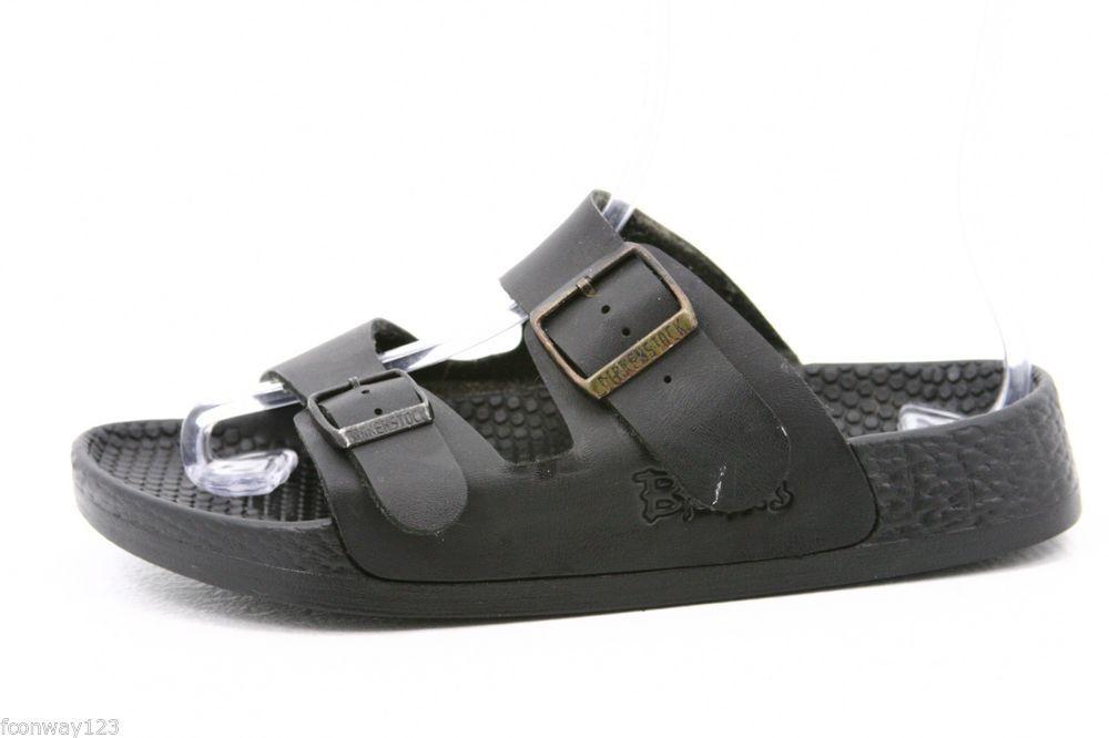 7f2a16930fa9 Birkenstock 38 Womens Sandals Size 8 Birkis HAITI WATERPROOF WATER SWIMMING  BLK  Birkenstock  Slides  ebay