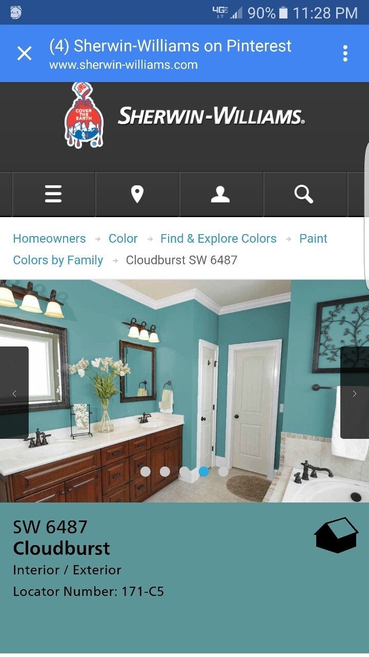 cloudburst from sherwin williams remodeling ideas for new home