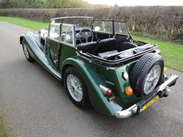 I'm more of a Plus 4 fan, but this is a cool piece of machinery too. Morgan +8 4-Seater    Classic Cars For Sale