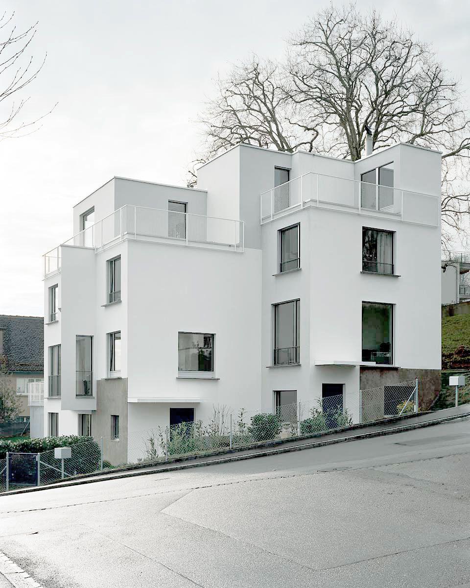 R schlikon duplex l tjens padmanabhan architekten for Casa moderna zurigo