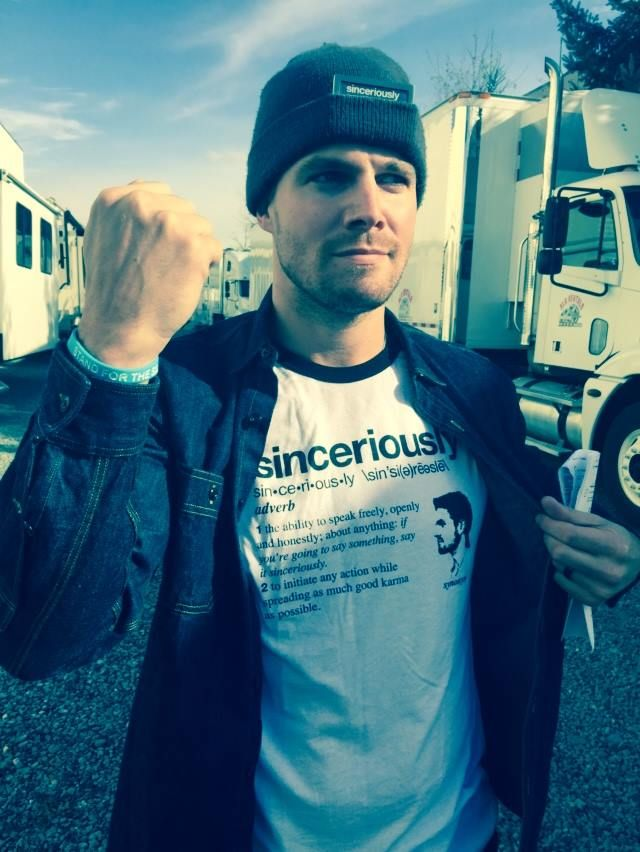 We're extending the Sinceriously campaign - http://represent.com/sinceriously until MIDNIGHT PST tonight for the following reasons: 1. I just woke up. 2. We can. 3. It's for Paws and Stripes. 3A. It's for Stand for the Silent (Official). 4. Again... I just woke up.  5. I'm aware what time it is. 6. Sinceriously. - Stephen