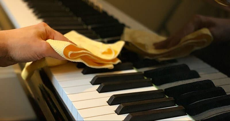 How To Clean Piano Keys In 2020 Piano Piano Keys Cleaning