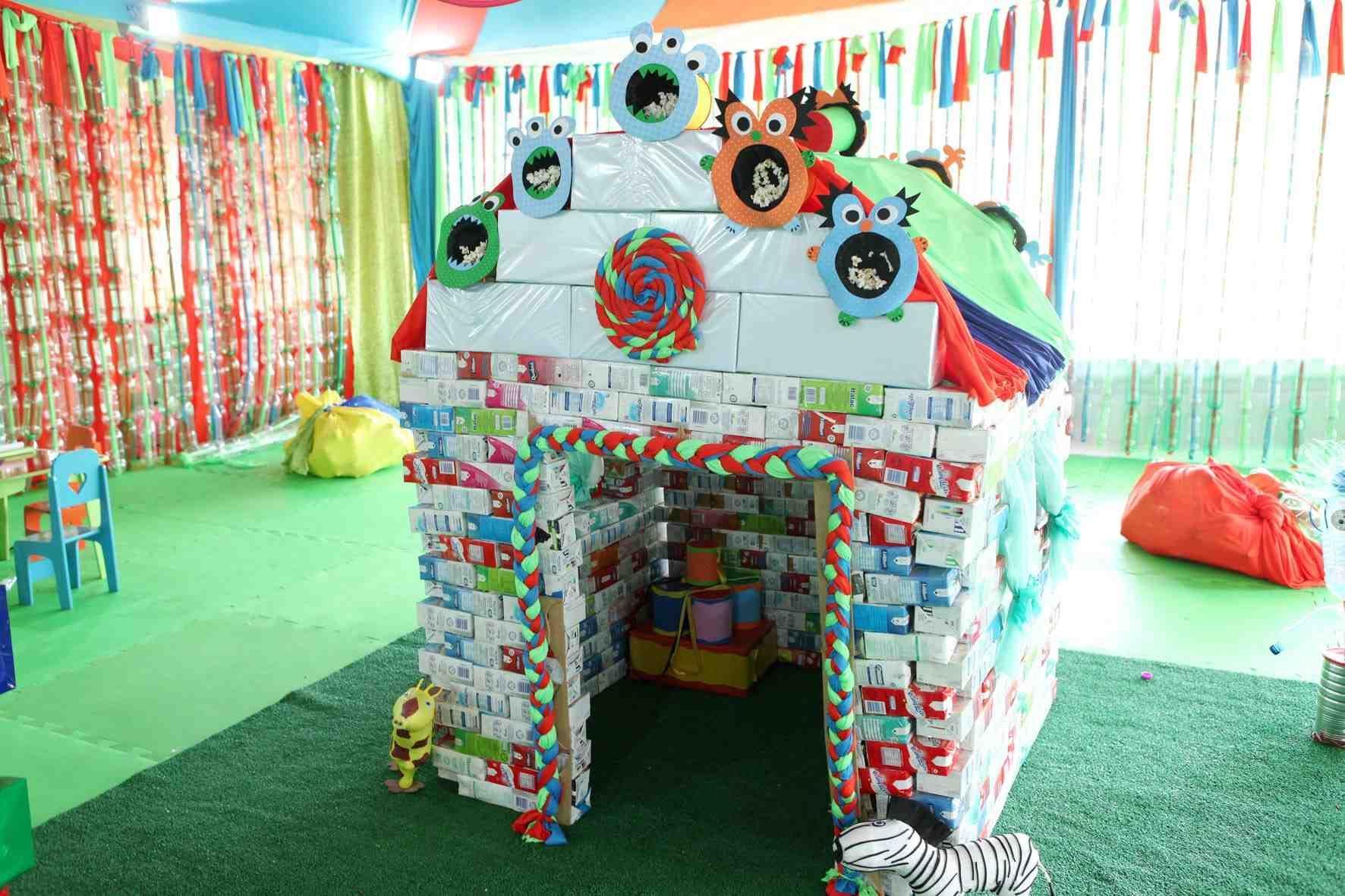 Brinquedos com material reciclado 14 | parquinho ...