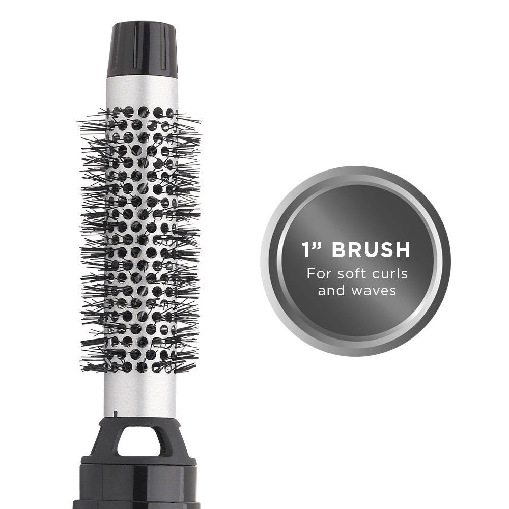 Revlon 3 Pc Hot Air Styling Brush For Volume And Soft Curls Find Out More About The Great Product Revlon Hair Dryer Round Hair Brush Ceramic Curling Irons