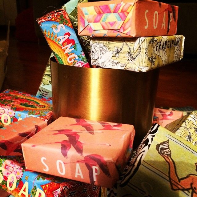 You can never have too many soaps, especially when they are wrapped so beautifully and smell so good. #apartment49hk #popup #soap #beautifulwrapping #deliciousscents #mothersdayideas