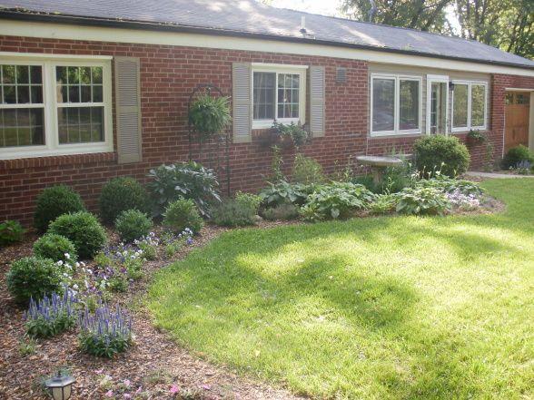 Landscaping Around Brick House : Best brick ranch ideas on exterior