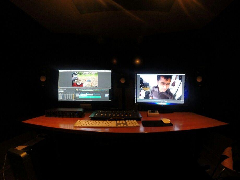 Control-Room #WorkSpace #Filmmaker #Editor #PremierePro