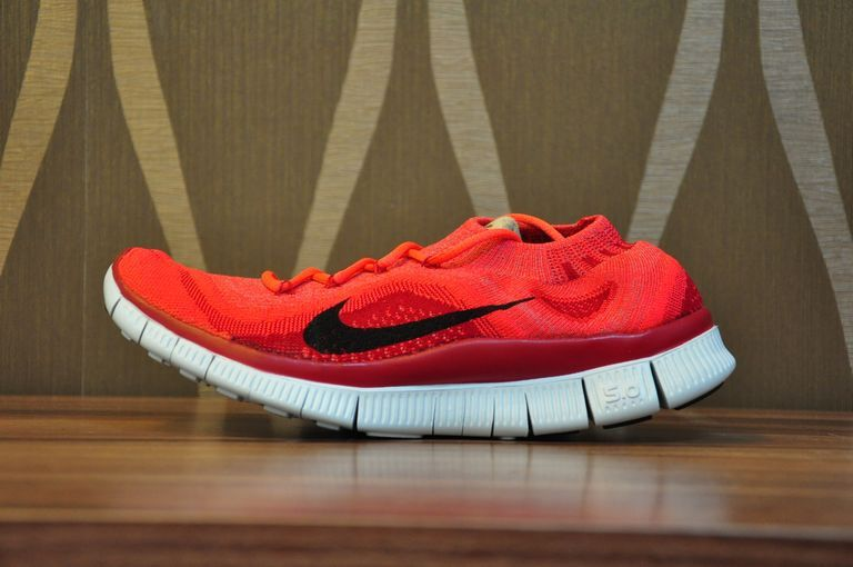 nike free flyknit 5.0 womens red