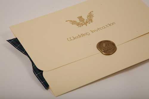 Scottish Wedding Invitations 4 Wedding Invitations Wedding