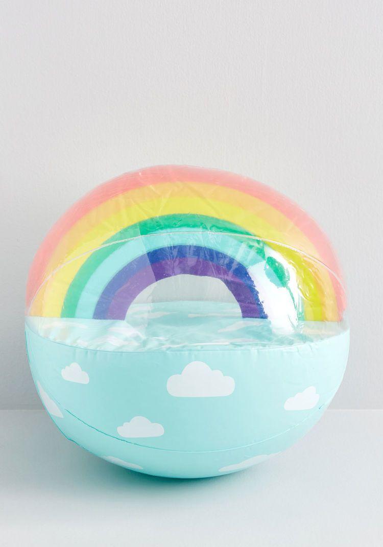 Volley The Rainbow Beach Ball Rainbow Beach Beach Ball Rainbow Design
