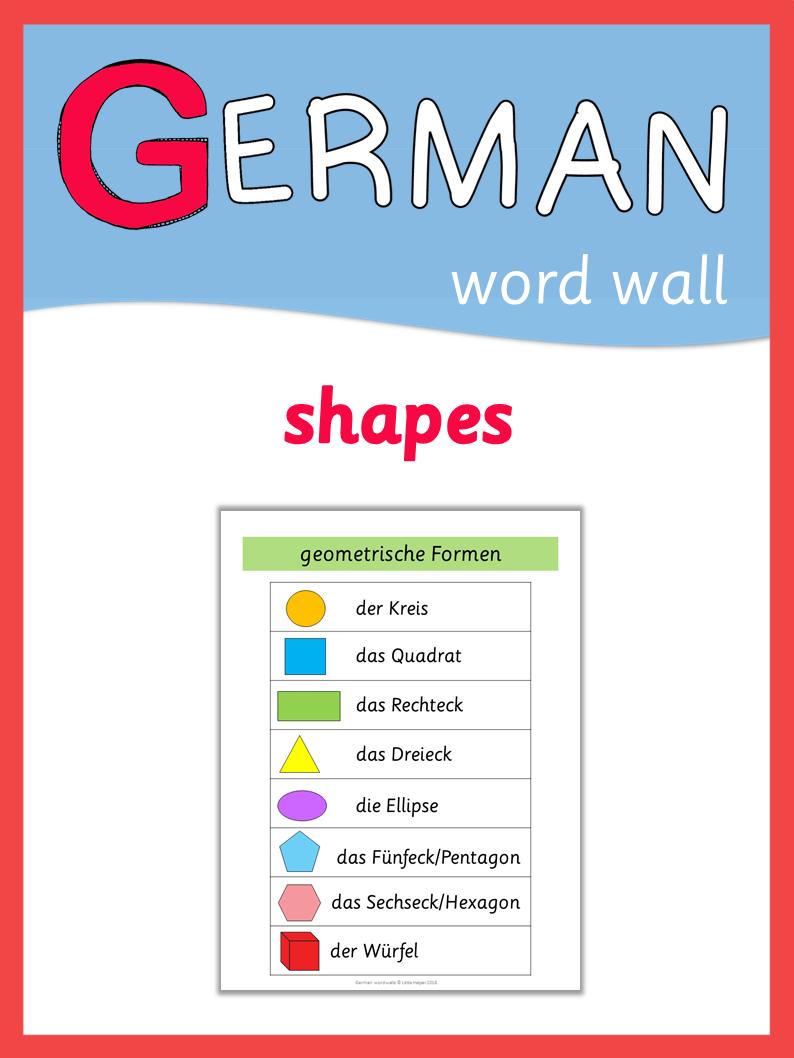 Shape Deutsch