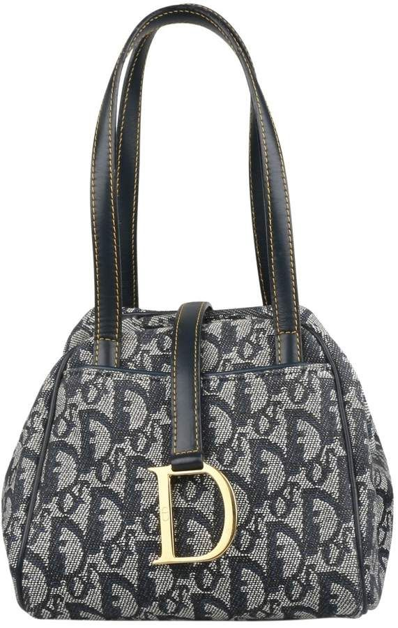 03acda3bfa4 Christian Dior Saddle cloth bag | Products | Dior handbags, Cloth ...