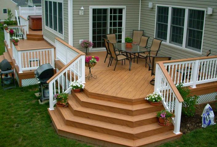 Best Manufactured Home Deck Google Search Desain Rumah 400 x 300